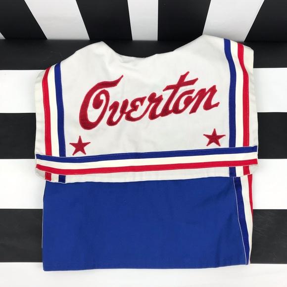 Vintage Other - 5 for $25 Overton Vintage Blue Cheerleader Top